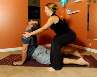 yoga therapy private classes  denver